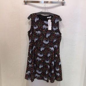 LA SOUL Sloth dress
